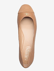Lauren Ralph Lauren - Gaines Nappa Leather Flat - ballerinaer - nude/nude - 3