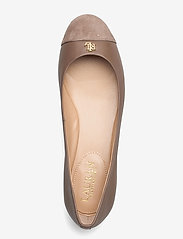 Lauren Ralph Lauren - Gaines Nappa Leather Flat - ballerinas - truffle/truffle - 3