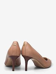 Lauren Ralph Lauren - Lanette Leather Pump - klassiske pumps - nude/vanilla - 4