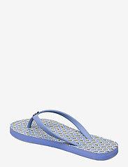 Lauren Ralph Lauren - Shawna Floral Sandal - teenslippers - blue - 2