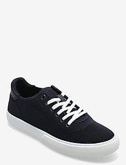 Lauren Ralph Lauren - FLY KNIT/MCROFBR PU-JAYLIN-NT-SK-LT - lave sneakers - lauren navy - 0