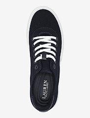 Lauren Ralph Lauren - FLY KNIT/MCROFBR PU-JAYLIN-NT-SK-LT - lave sneakers - lauren navy - 3