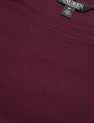 Lauren Ralph Lauren - Cotton Boatneck T-Shirt - t-shirts - pinot noir - 2