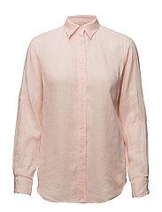 Linen Button-Down Shirt - ENGLISH ROSE
