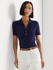 Lauren Ralph Lauren - Piqué Polo Shirt - poloskjorter - french navy - 0