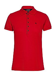 Piqué Polo Shirt - LIPSTICK RED
