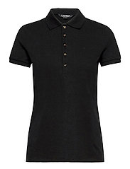 Piqué Polo Shirt - POLO BLACK