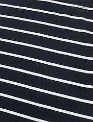 Lauren Ralph Lauren - RFND STRTCH 1X1 RIB-ELB SLV BT NK T - t-shirts - lauren navy/white - 2