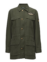 Canvas Utility Jacket - ADMIRAL GREEN