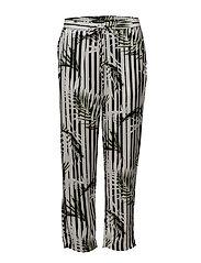 Print Twill Skinny Pant - MULTI