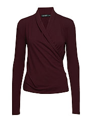 LUXE STRETCH JERSEY-TOP - RIOJA