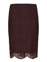 Scalloped Lace Skirt - RIOJA