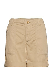 Cotton Twill Short - BIRCH TAN