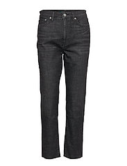 Regal Straight Ankle Jean - FADED NOIR WASH