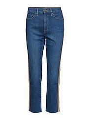 Regal Straight Ankle Jean - EDEN INDIGO WASH