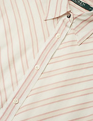 Lauren Ralph Lauren - Striped Belted Shirtdress - paitamekot - dry berry multi - 2