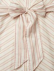 Lauren Ralph Lauren - Striped Belted Shirtdress - paitamekot - dry berry multi - 3