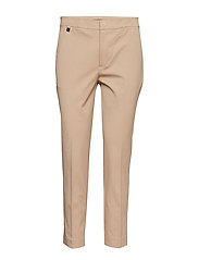 Cotton Twill Skinny Pant - BIRCH TAN