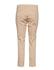 Lauren Ralph Lauren - Cotton Twill Skinny Pant - suorat housut - birch tan - 1
