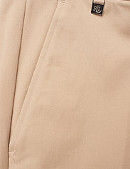 Lauren Ralph Lauren - Cotton Twill Skinny Pant - suorat housut - birch tan - 2