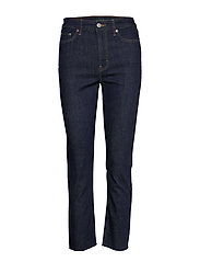 Regal Straight Ankle Jean - RINSE WASH