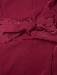 Lauren Ralph Lauren - MATTE CREPE-JUMPSUIT - kombinezony - dark rasberry - 3