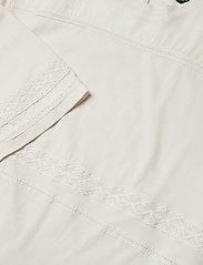 Lauren Ralph Lauren - SUBLIME CTN JERSEY-KNT - blouses à manches courtes - mascarpone cream - 2