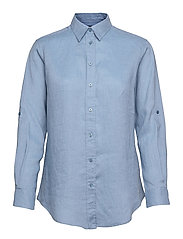 Linen Shirt - DUST BLUE
