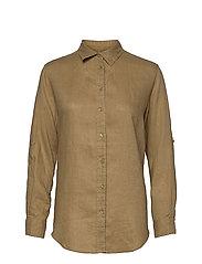 Linen Shirt - SPRING KHAKI
