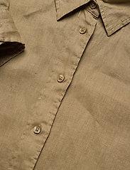 Lauren Ralph Lauren - Linen Shirt - langærmede skjorter - spring khaki - 4