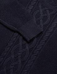 Lauren Ralph Lauren - Puff-Sleeve Cable Sweater - swetry - lauren navy - 2