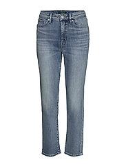 Premier Straight Ankle Jean - LIGHT INDIGO WASH