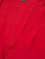 Lauren Ralph Lauren - Georgette Flutter-Sleeve Top - blouses à manches courtes - orient red - 3