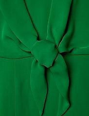 Lauren Ralph Lauren - Crepe Wide-Leg Jumpsuit - kombinezony - hedge green - 4