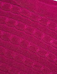Lauren Ralph Lauren - Cable-Knit Boatneck Sweater - strikkede topper og t-skjorter - bright fuchsia - 2