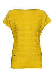 Cable-Knit Boatneck Sweater - DANDELION FIELDS