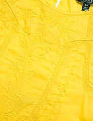 Lauren Ralph Lauren - Embroidered Bell-Sleeve Top - langærmede bluser - dandelion fields - 3