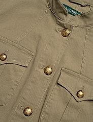 Lauren Ralph Lauren - Stretch-Cotton Canvas Jacket - kurtki użytkowe - dry olive - 2