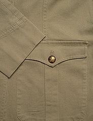 Lauren Ralph Lauren - Stretch-Cotton Canvas Jacket - kurtki użytkowe - dry olive - 3