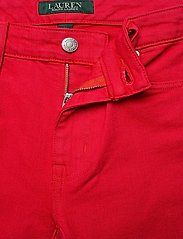 Lauren Ralph Lauren - Premier Straight Crop Jean - slim jeans - bold red wash - 4
