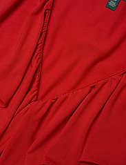 Lauren Ralph Lauren - Ruffle-Trim Jersey Top - Ærmeløse bluser - orient red - 3