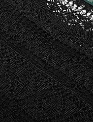 Lauren Ralph Lauren - Pointelle Short-Sleeve Dress - midi kjoler - polo black - 3