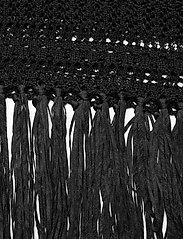 Lauren Ralph Lauren - Pointelle Short-Sleeve Dress - midi kjoler - polo black - 4