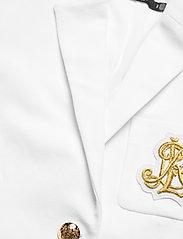 Lauren Ralph Lauren - Patch Jacquard Blazer - casual blazere - white - 2