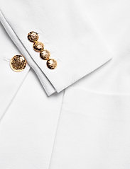 Lauren Ralph Lauren - Patch Jacquard Blazer - casual blazere - white - 3