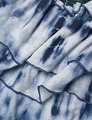 Lauren Ralph Lauren - Tie-Dye Off-the-Shoulder Top - blouses à manches courtes - blue multi - 3