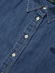 Lauren Ralph Lauren - Ombré Denim Shirt - jeansblouses - dipped indigo was - 3