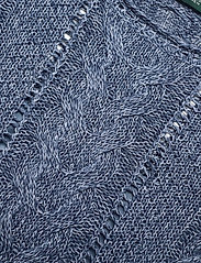 Lauren Ralph Lauren - Cable-Knit Linen-Blend Sweater - strikkede toppe - indigo marl - 3