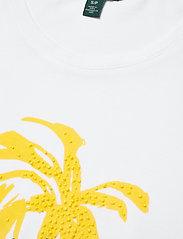 Lauren Ralph Lauren - Print Cotton-Blend Tee - t-shirts - white - 3