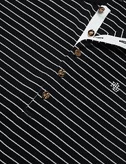 Lauren Ralph Lauren - Striped Piqué Polo Shirt - poloskjorter - polo black/white - 3